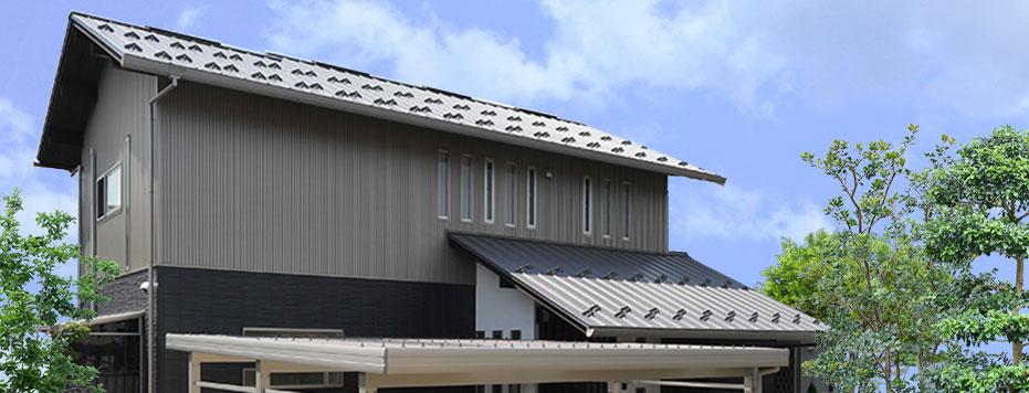 住宅(堅平カン合、K型スパン150)